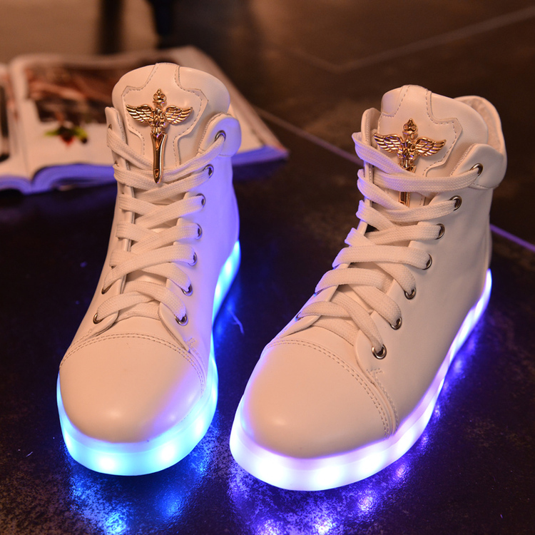 new-arrived-brand-women-fashion-7-colors-led-lighted-shoes-lace-up-high-top-casual-women